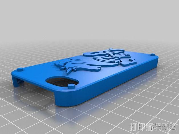 iPhone5 手机壳 3D模型  图2