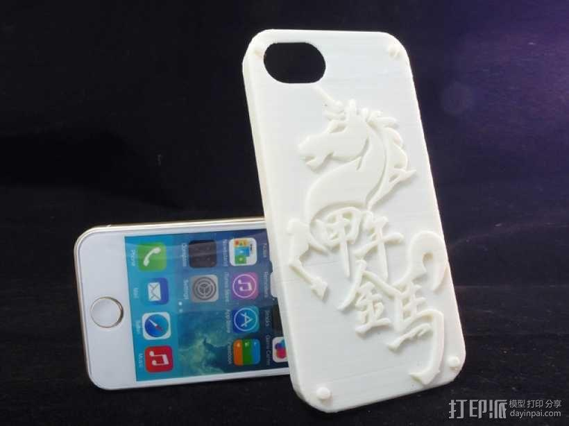 iPhone5 手机壳 3D模型  图1