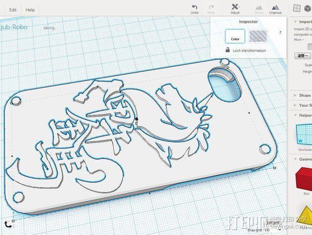 iPhone5 手机壳 3D模型  图3