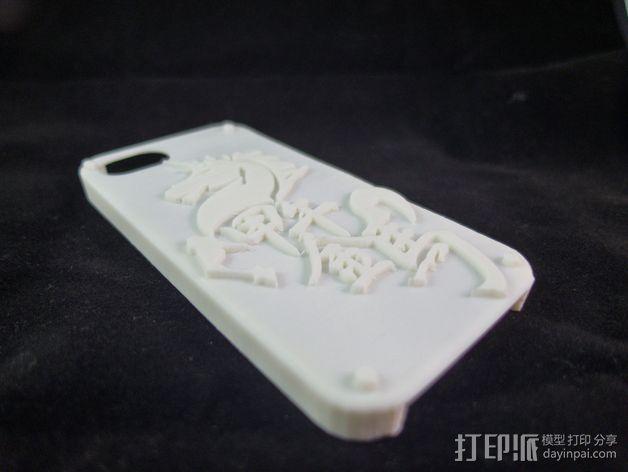 iPhone5 手机壳 3D模型  图4