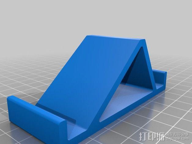 Nexus 4 手机座 3D模型  图1