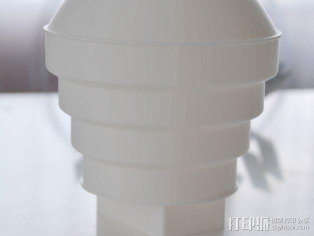 Nikon 910 TTL闪光灯灯罩 3D模型  图1