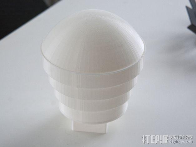 Nikon 910 TTL闪光灯灯罩 3D模型  图6