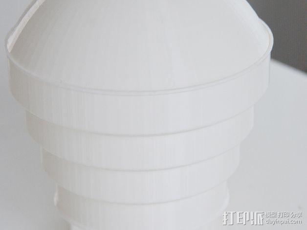 Nikon 910 TTL闪光灯灯罩 3D模型  图5