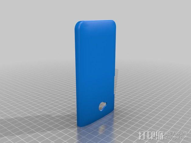 HTC One手机壳 3D模型  图2