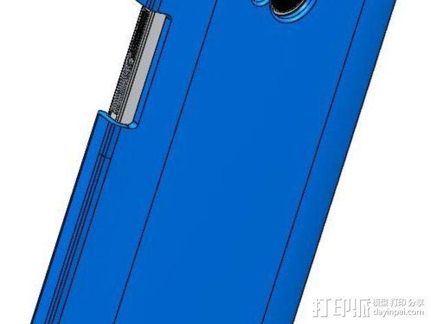 HTC One手机壳 3D模型  图4