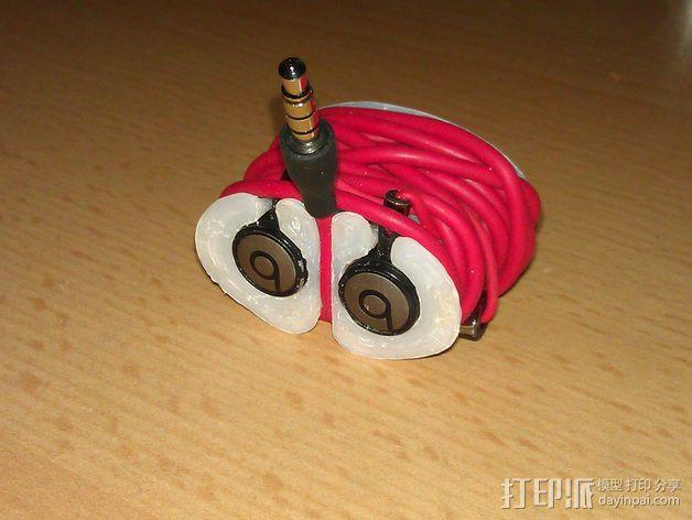 Beats audio绕线器 3D模型  图4