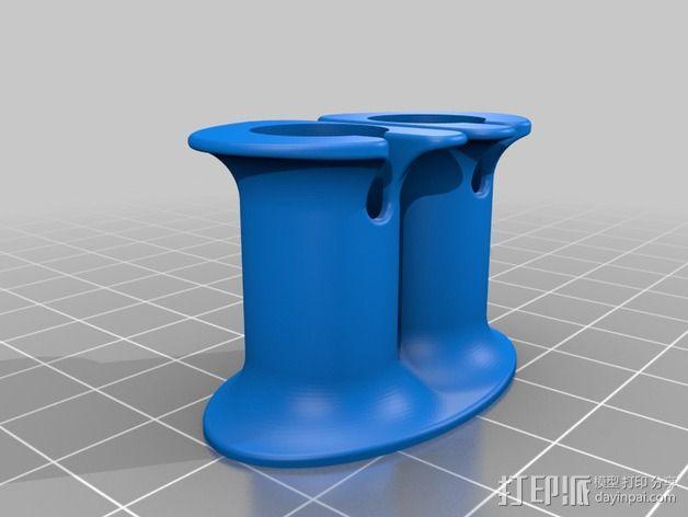Beats audio绕线器 3D模型  图7