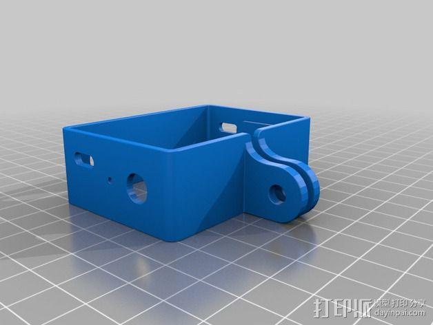 GoPro DIY壳子 3D模型  图2