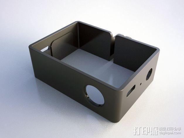 GoPro DIY壳子 3D模型  图4