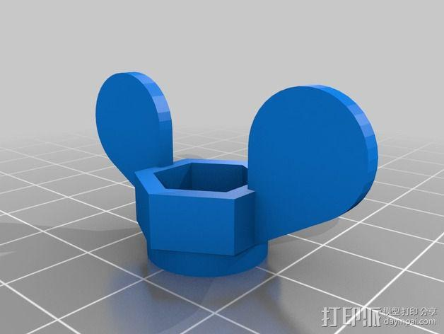 NOTE 2多功能支架 3D模型  图2