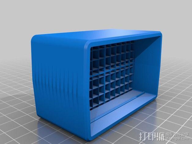 佳能380EX盒子 3D模型  图2