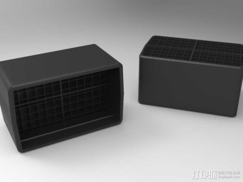 佳能380EX盒子 3D模型  图1