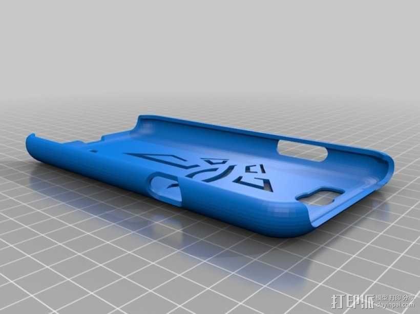 Samsung Galaxy Note 2手机壳 3D模型  图1