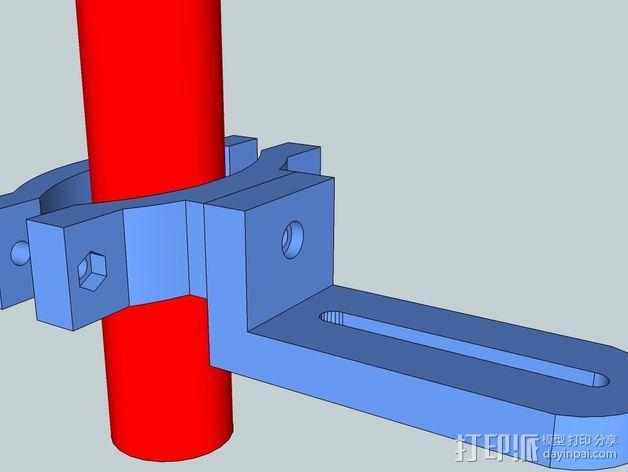 照相机把手 3D模型  图1