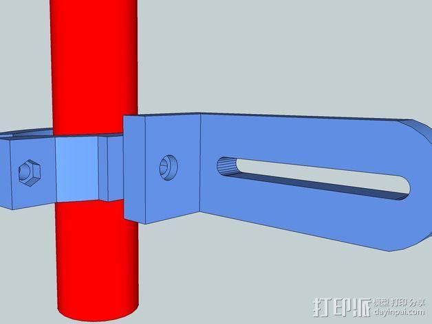 照相机把手 3D模型  图3