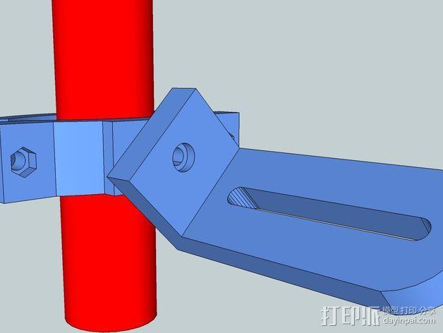 照相机把手 3D模型  图2