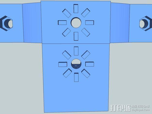 照相机把手 3D模型  图7