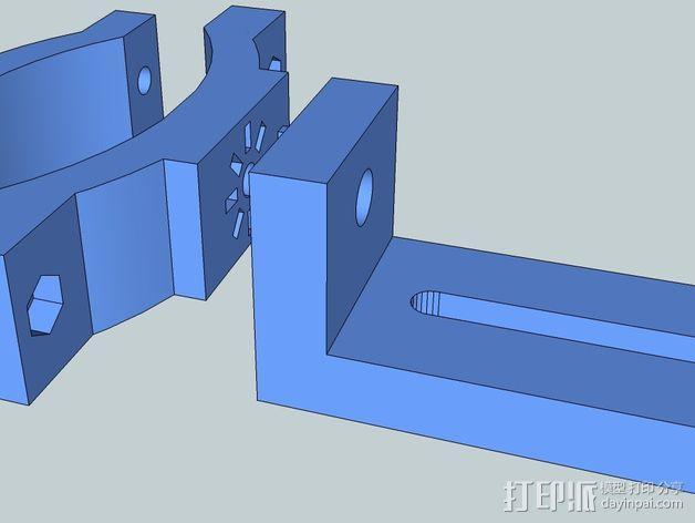 照相机把手 3D模型  图6