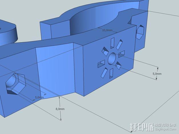 照相机把手 3D模型  图8