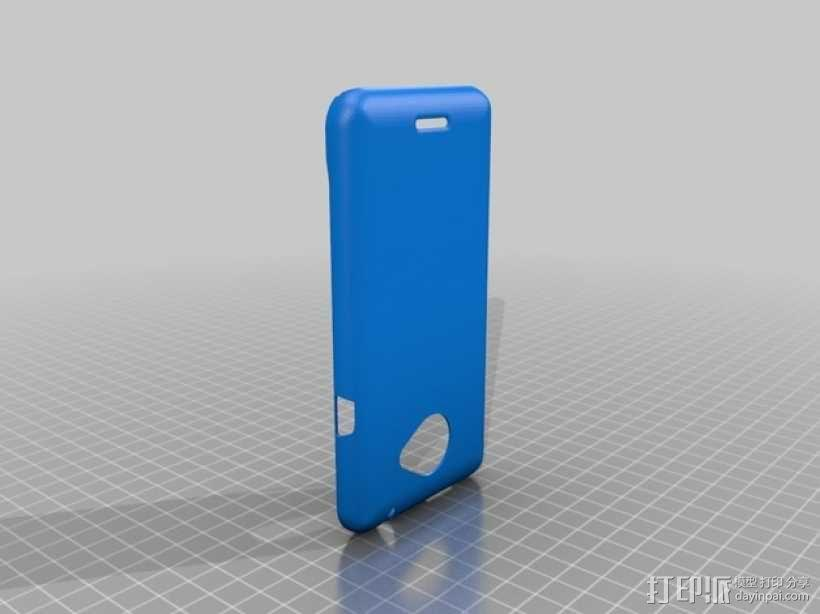 HTC Evo 4G 手机壳 3D模型  图1