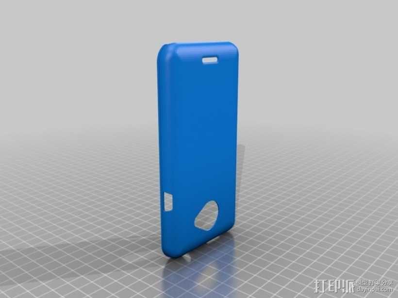 HTC Evo 4G 手机壳 3D模型  图2