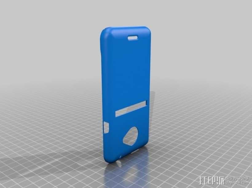 HTC Evo 4G 手机壳 3D模型  图3