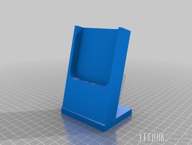 iPhone 5S 充电手机座 3D模型  图2