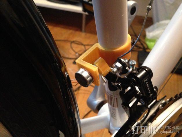 自行车控制器 3D模型  图1