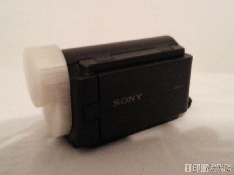 Sony AKA-LU1 保护盖 3D模型  图1