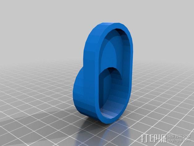 Sony AKA-LU1 保护盖 3D模型  图2