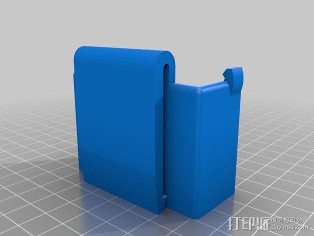 GoPro壳子 3D模型  图2