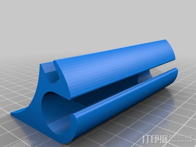苹果虚线键盘夹 3D模型  图3