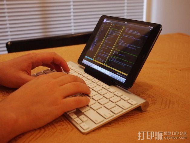 苹果虚线键盘夹 3D模型  图2