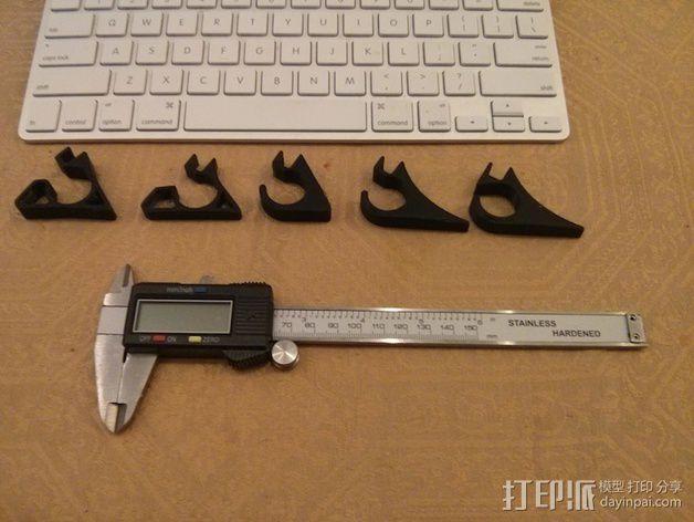 苹果虚线键盘夹 3D模型  图4
