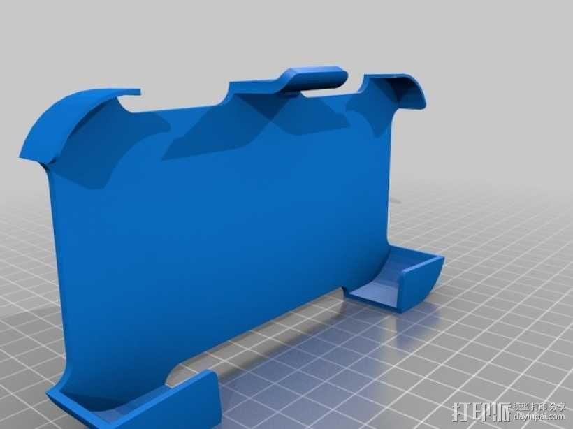 S4手机壳 3D模型  图1