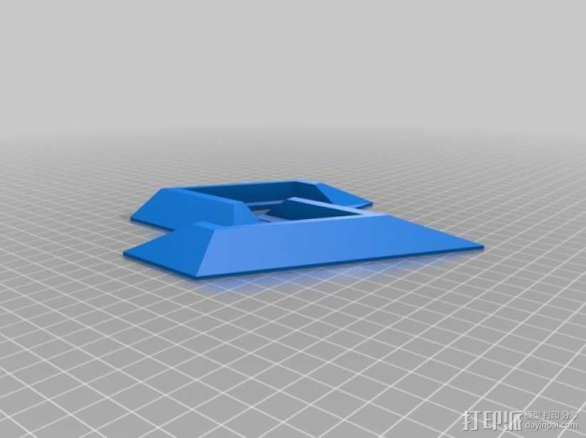 PS4支架 3D模型  图1