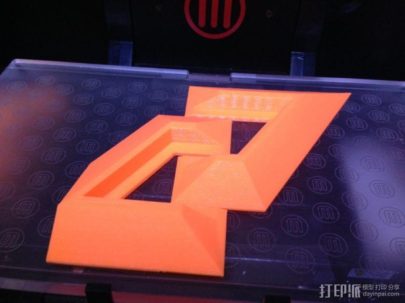 PS4支架 3D模型  图3