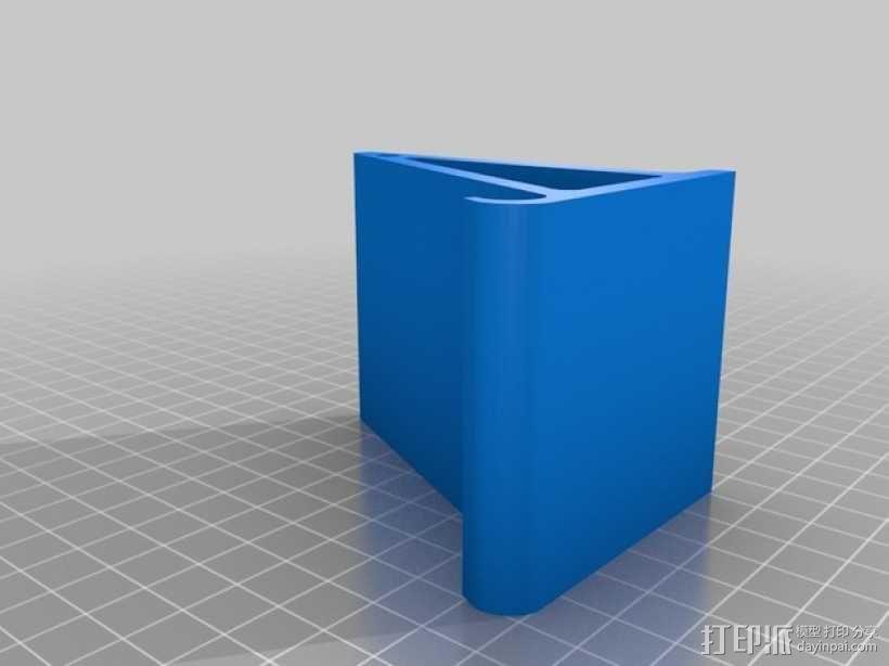 Galaxy Note3手机座 3D模型  图2