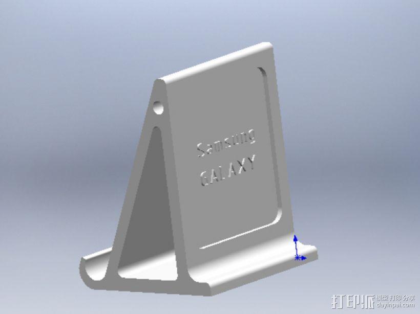 Galaxy Note3手机座 3D模型  图3
