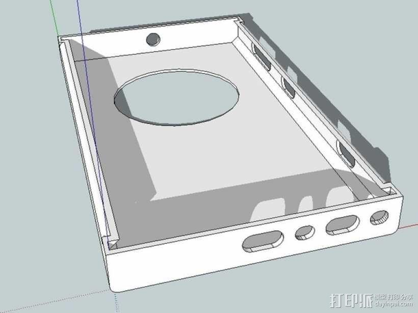 Nokia Lumia 1020手机壳 3D模型  图1
