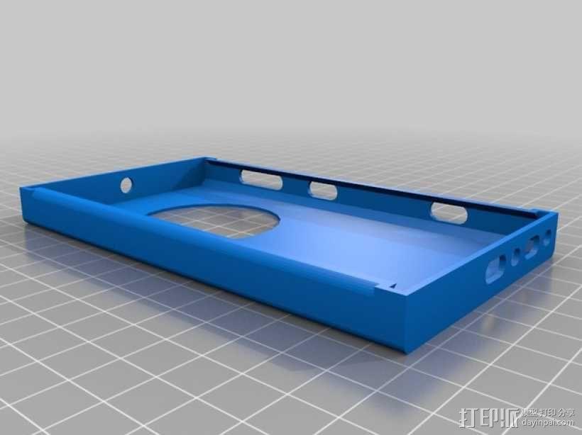 Nokia Lumia 1020手机壳 3D模型  图2