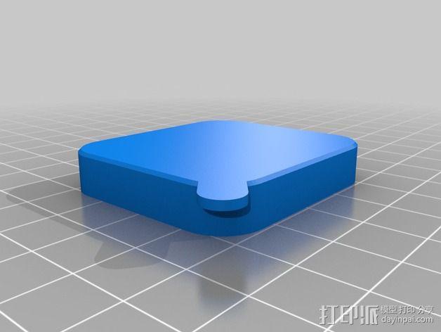 GoPro Hero 3镜头盖 3D模型  图4