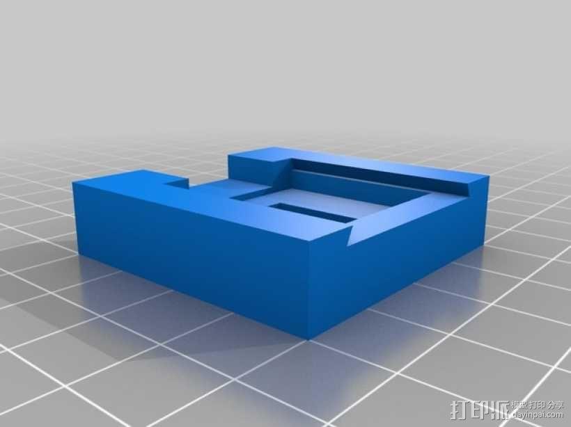 Raspberry Pi 相机显微镜适配器 3D模型  图2