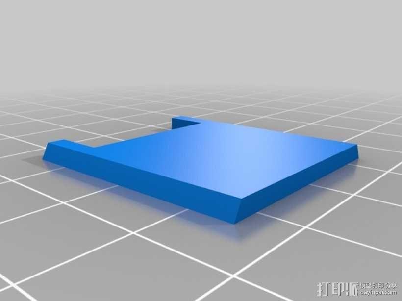 Raspberry Pi 相机显微镜适配器 3D模型  图3