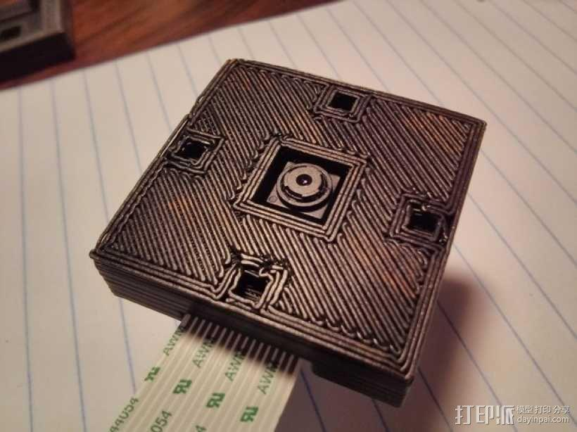 Raspberry Pi 相机显微镜适配器 3D模型  图7