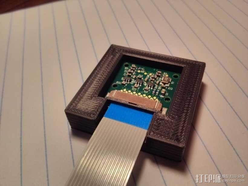 Raspberry Pi 相机显微镜适配器 3D模型  图8