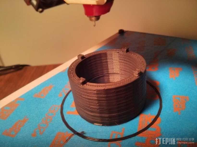 Raspberry Pi 相机显微镜适配器 3D模型  图9