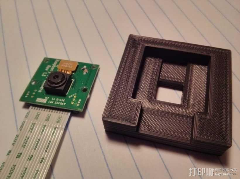 Raspberry Pi 相机显微镜适配器 3D模型  图10