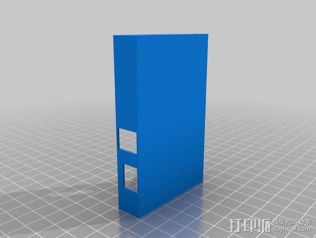 Raspberry pi 相机壳子 3D模型  图1